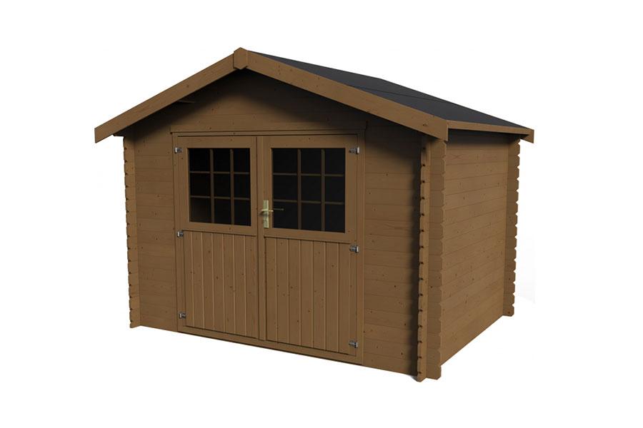 vendita e montaggio casette di legno Roma lazio